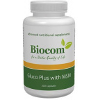 Biocom Gluco Plus with MSM kapszula 200db